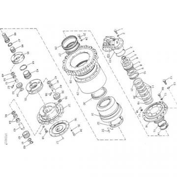 John Deere 17D Hydraulic Finaldrive Motor