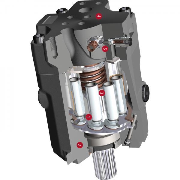 Case SR175 1-SPD Reman Hydraulic Final Drive Motor #3 image