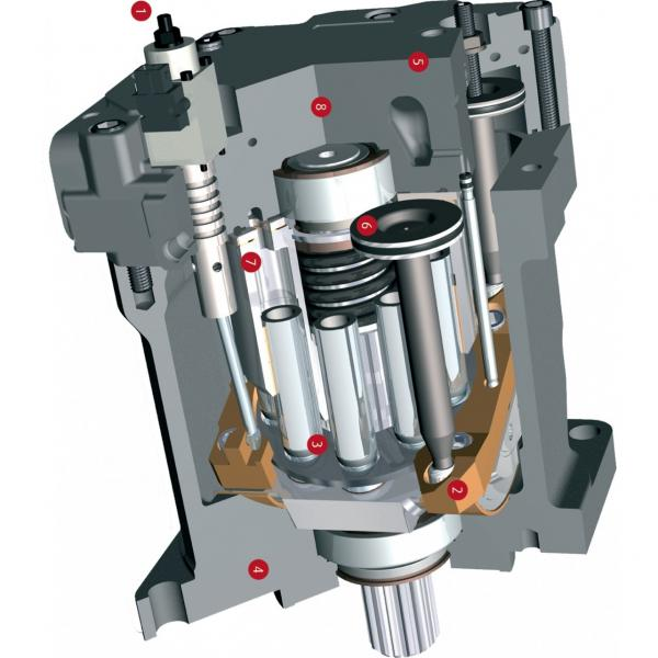Case SR130 1-SPD Reman Hydraulic Final Drive Motor #1 image