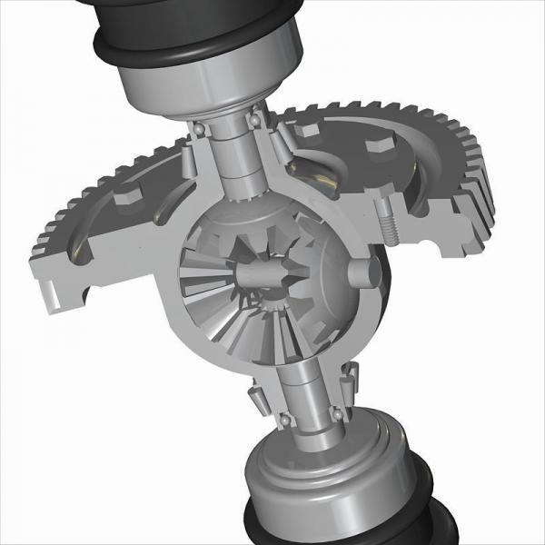 Komatsu 20T-60-82120 Hydraulic Final Drive Motor #3 image